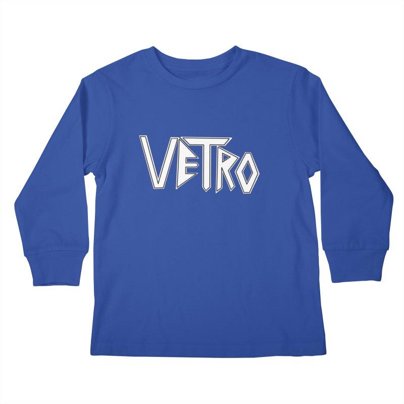 Vetro Logo #1 Kids Longsleeve T-Shirt by RockIsland's Artist Shop