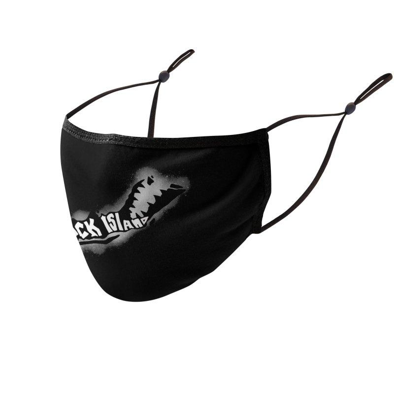 Rock Island Logo #3 Accessories Face Mask by RockIsland's Artist Shop