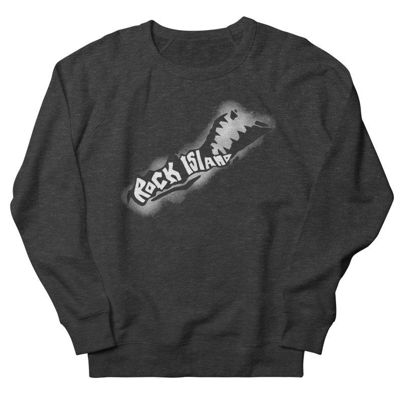 Rock Island Logo #3 Women's Sweatshirt by RockIsland's Artist Shop