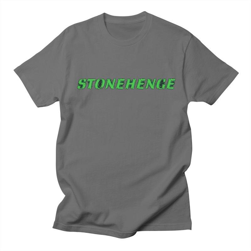 Stonehenge Logo #1 Men's T-Shirt by RockIsland's Artist Shop