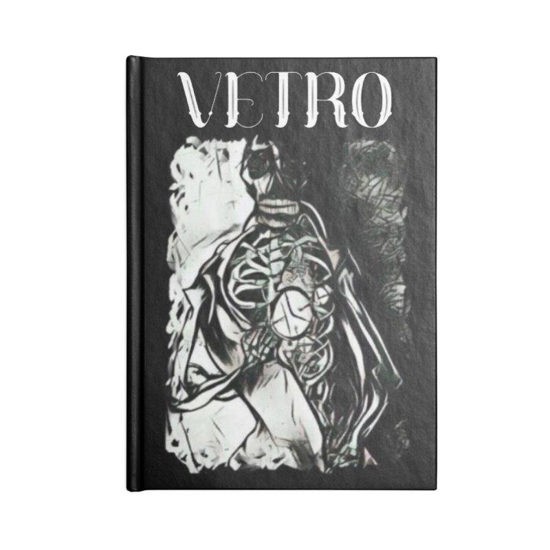 Vetro Logo #2 Accessories Notebook by RockIsland's Artist Shop
