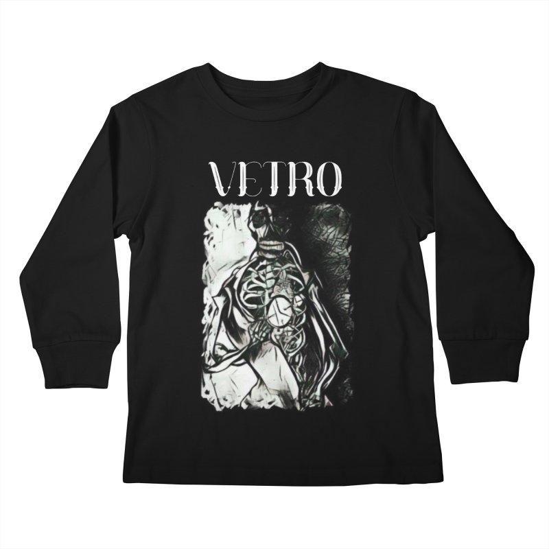 Vetro Logo #2 Kids Longsleeve T-Shirt by RockIsland's Artist Shop