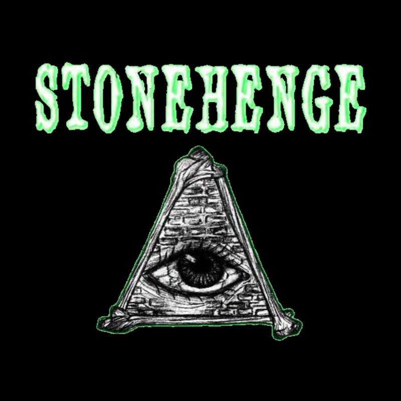 Stonehenge Logo #2 Accessories Face Mask by RockIsland's Artist Shop