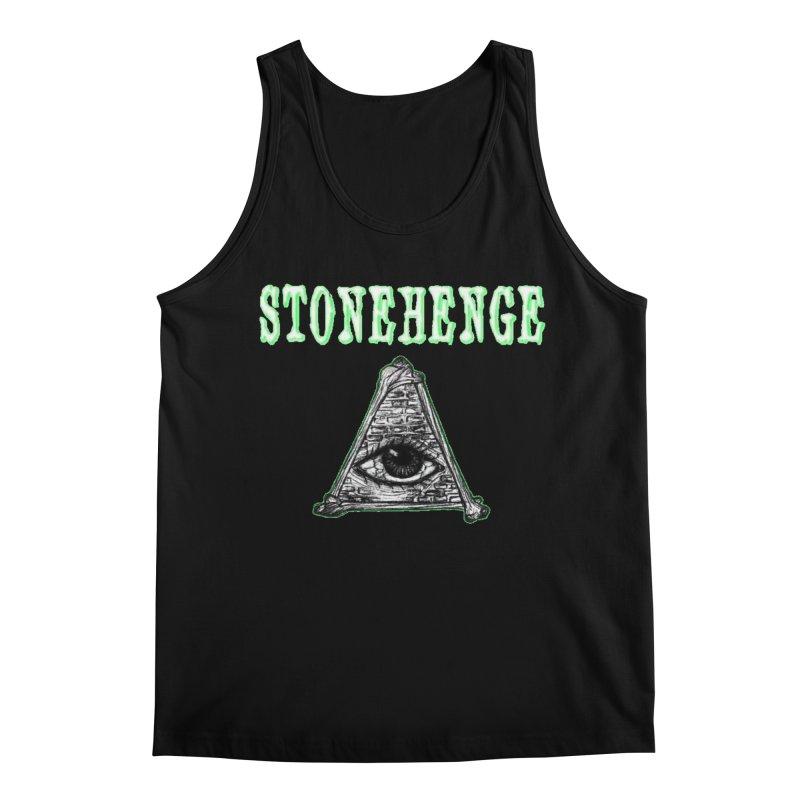 Stonehenge Logo #2 Men's Tank by RockIsland's Artist Shop