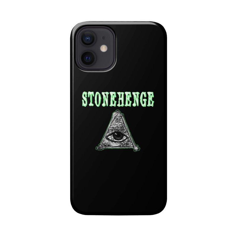 Stonehenge Logo #2 Accessories Phone Case by RockIsland's Artist Shop