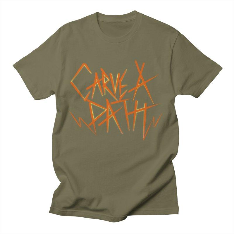 Carve A Path Logo #1 Men's T-Shirt by RockIsland's Artist Shop