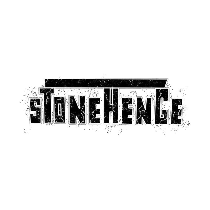 Stonehenge Logo #3 Men's T-Shirt by RockIsland's Artist Shop