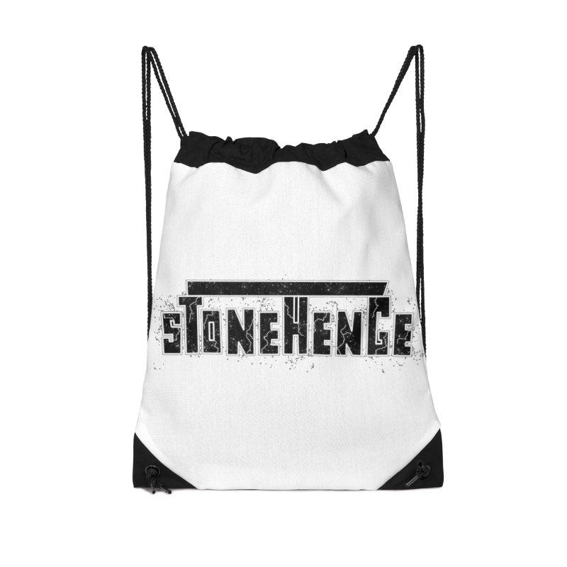 Stonehenge Logo #3 Accessories Bag by RockIsland's Artist Shop
