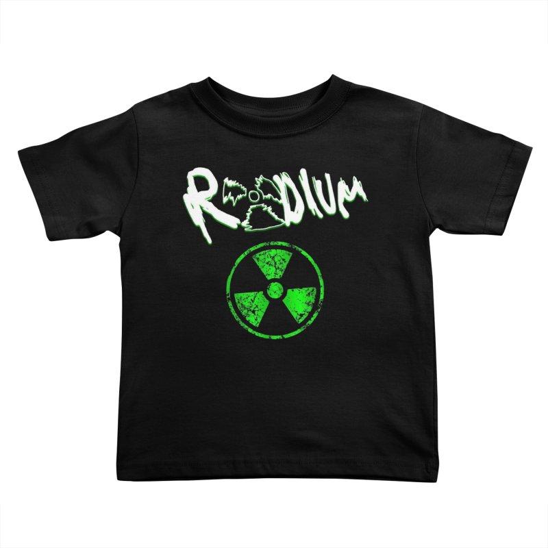 Radium Logo #1 Kids Toddler T-Shirt by RockIsland's Artist Shop
