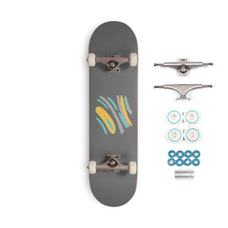 Cosmic Tiger Accessories Complete - Basic Skateboard by Rocket Artist Shop