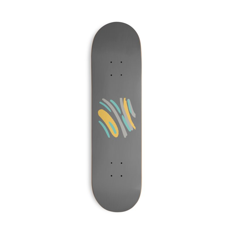 Cosmic Tiger Accessories Skateboard by Rocket Artist Shop