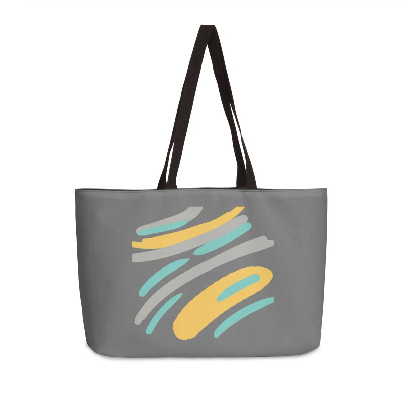 Cosmic Tiger Accessories Weekender Bag Bag by Rocket Artist Shop
