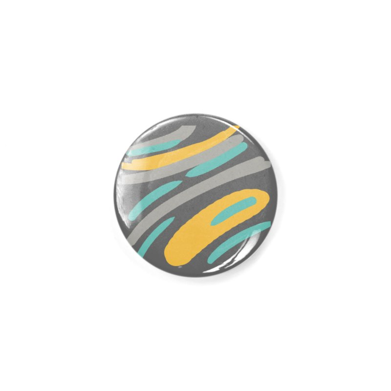 Cosmic Tiger Accessories Button by Rocket Artist Shop