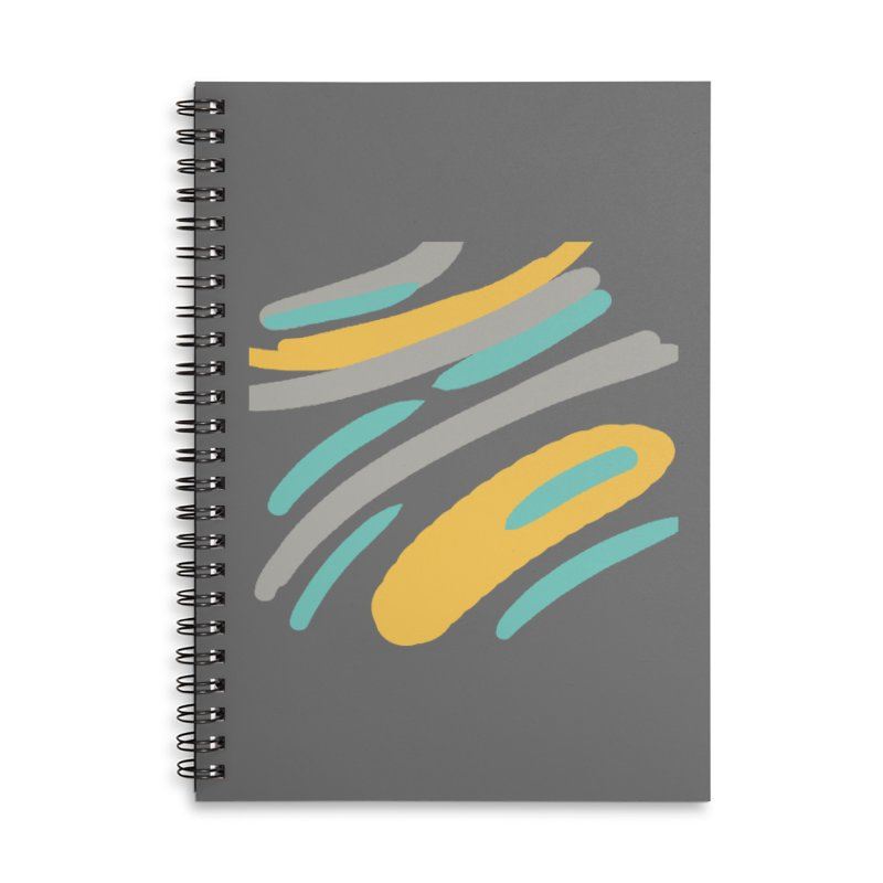 Cosmic Tiger Accessories Lined Spiral Notebook by Rocket Artist Shop