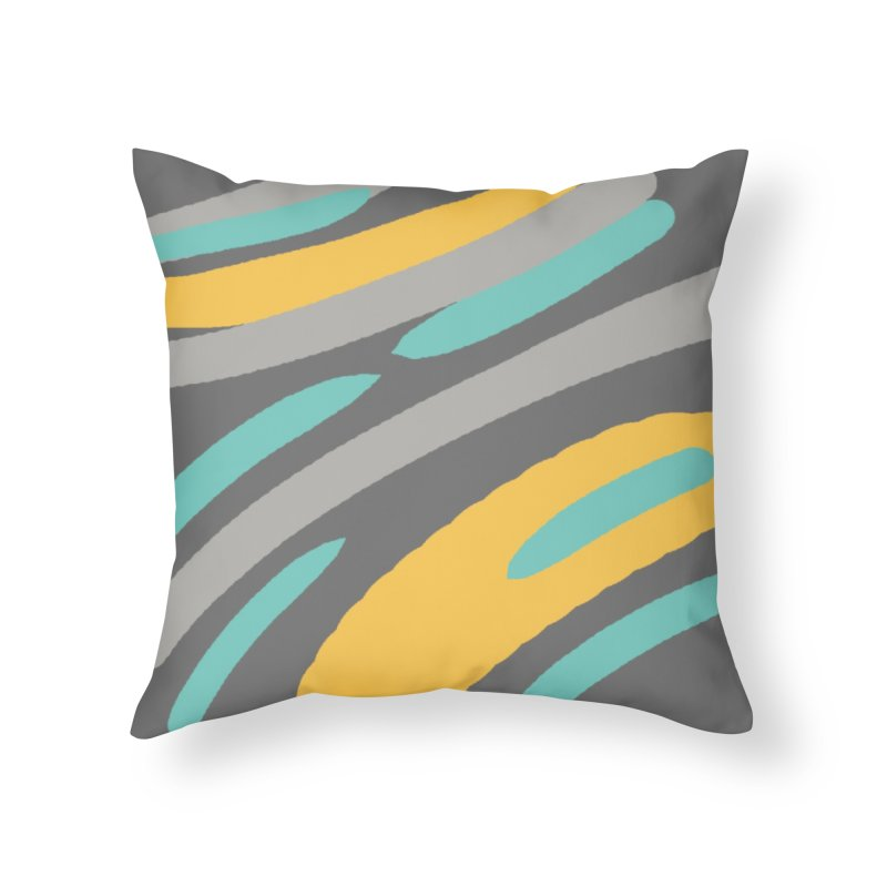 Cosmic Tiger Home Throw Pillow by Rocket Artist Shop