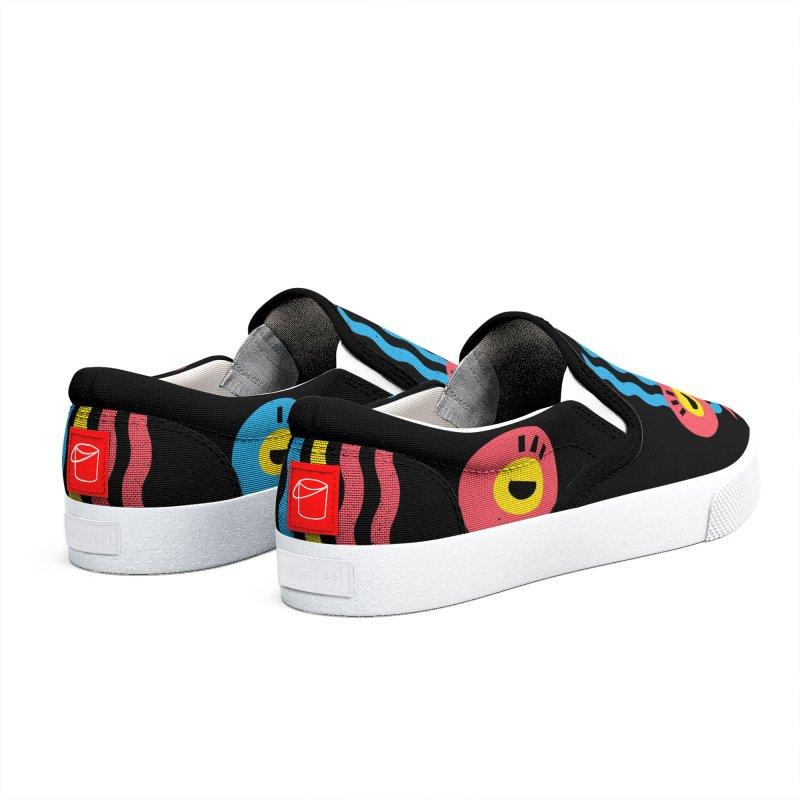 MonkeyLady Men's Shoes by Rocket Artist Shop