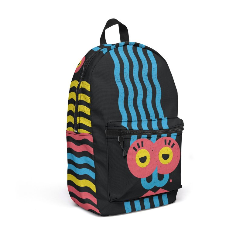 MonkeyLady Accessories Backpack Bag by Rocket Artist Shop