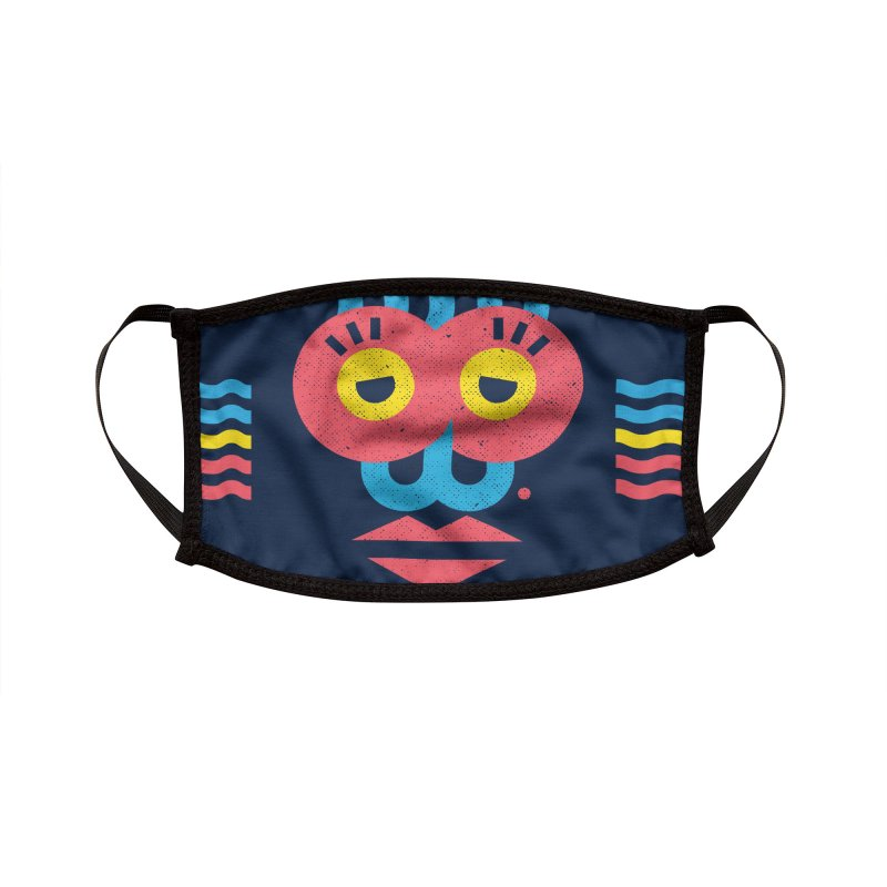 MonkeyLady Accessories Face Mask by Rocket Artist Shop