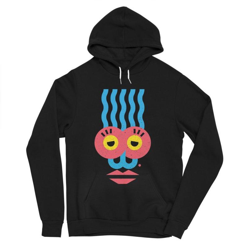 MonkeyLady Women's Sponge Fleece Pullover Hoody by Rocket Artist Shop