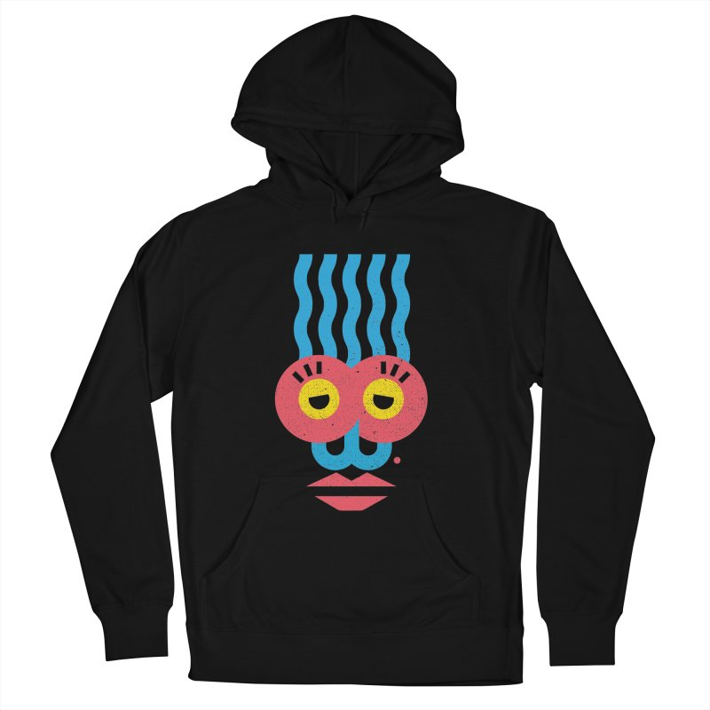 MonkeyLady Women's French Terry Pullover Hoody by Rocket Artist Shop