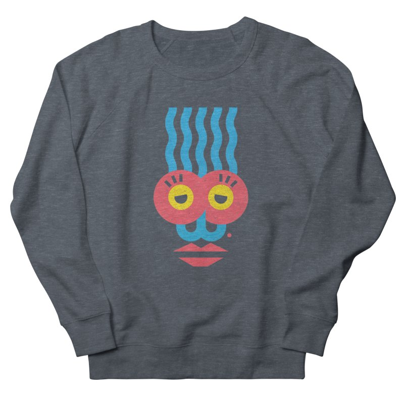 MonkeyLady Women's French Terry Sweatshirt by Rocket Artist Shop