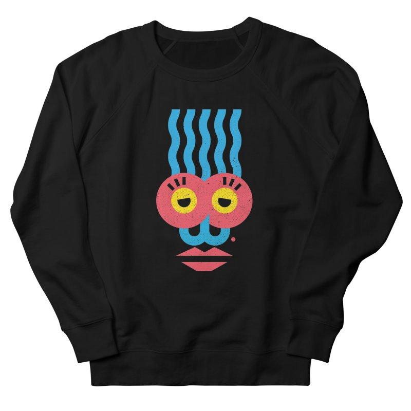 MonkeyLady Women's French Terry Sweatshirt by Rocket Artist Shop