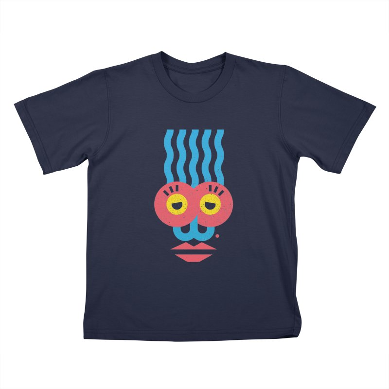 MonkeyLady Kids T-Shirt by Rocket Artist Shop