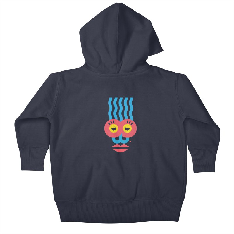 MonkeyLady Kids Baby Zip-Up Hoody by Rocket Artist Shop