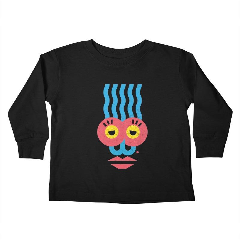 MonkeyLady Kids Toddler Longsleeve T-Shirt by Rocket Artist Shop