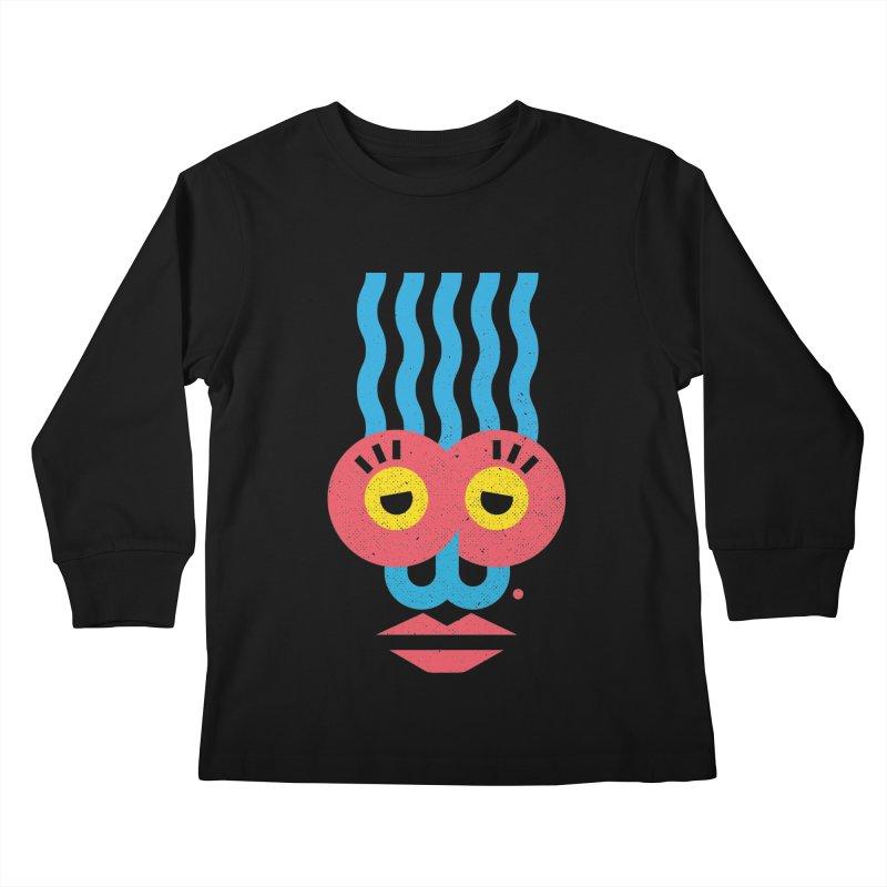 MonkeyLady Kids Longsleeve T-Shirt by Rocket Artist Shop