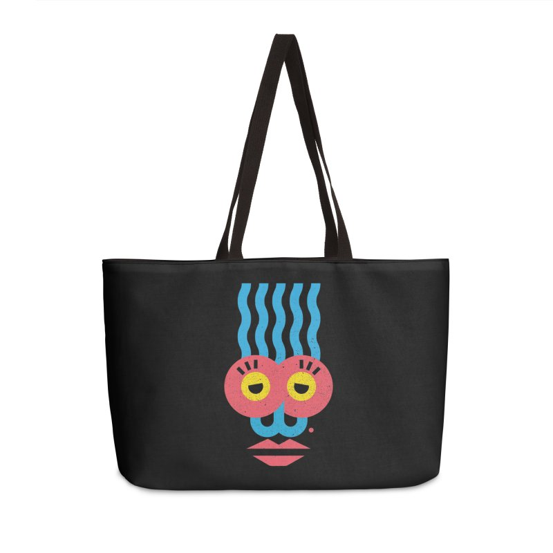 MonkeyLady Accessories Weekender Bag Bag by Rocket Artist Shop