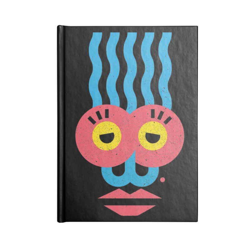 MonkeyLady Accessories Lined Journal Notebook by Rocket Artist Shop