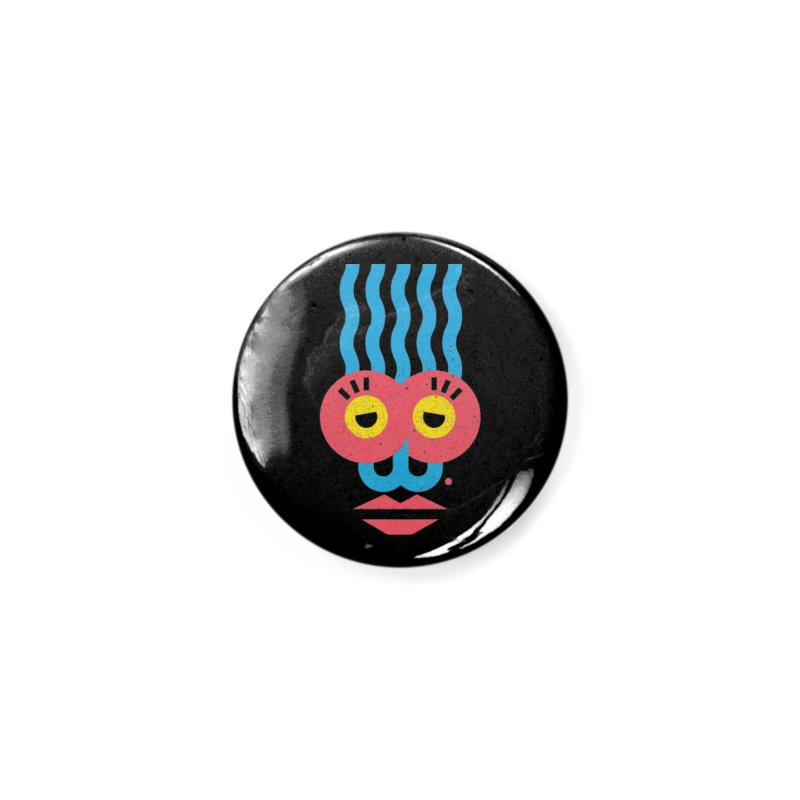 MonkeyLady Accessories Button by Rocket Artist Shop