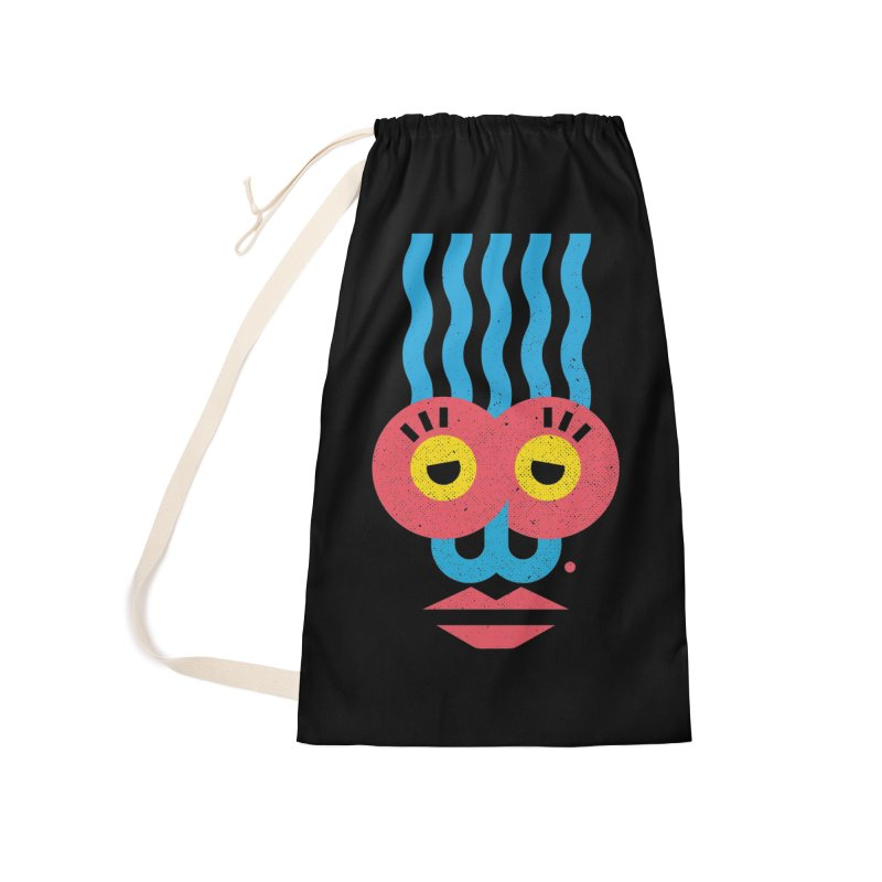 MonkeyLady Accessories Laundry Bag Bag by Rocket Artist Shop
