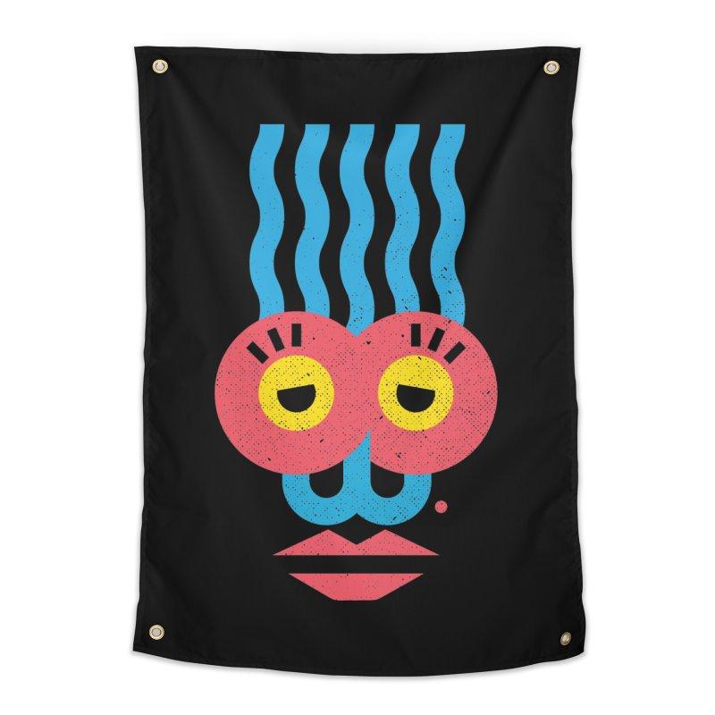 MonkeyLady Home Tapestry by Rocket Artist Shop