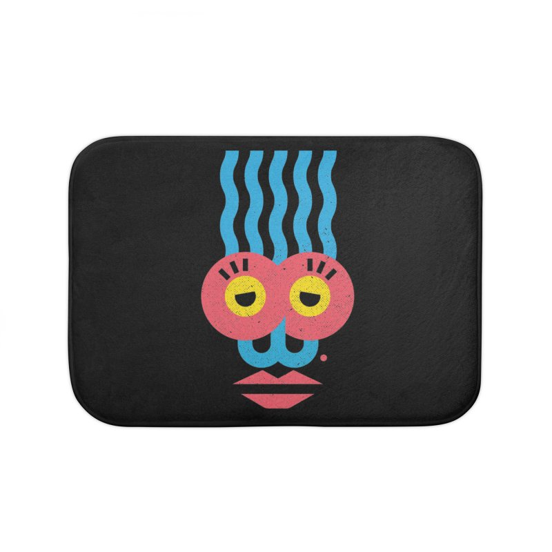 MonkeyLady Home Bath Mat by Rocket Artist Shop