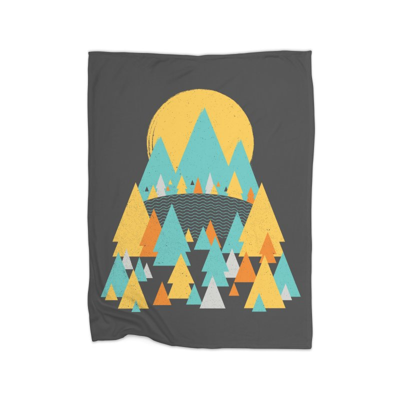 Magicland Home Fleece Blanket Blanket by Rocket Artist Shop