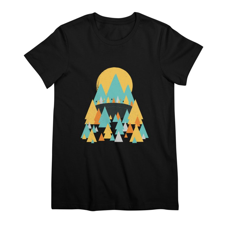 Magicland Women's Premium T-Shirt by Rocket Artist Shop