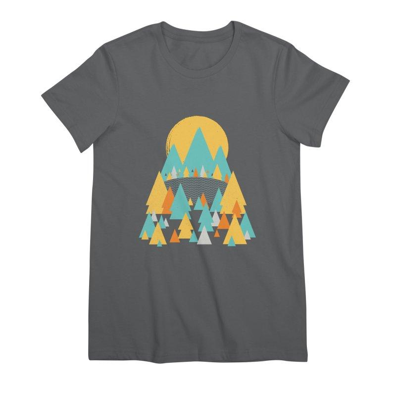 Magicland Women's Premium T-Shirt by Rocket Artist Shop