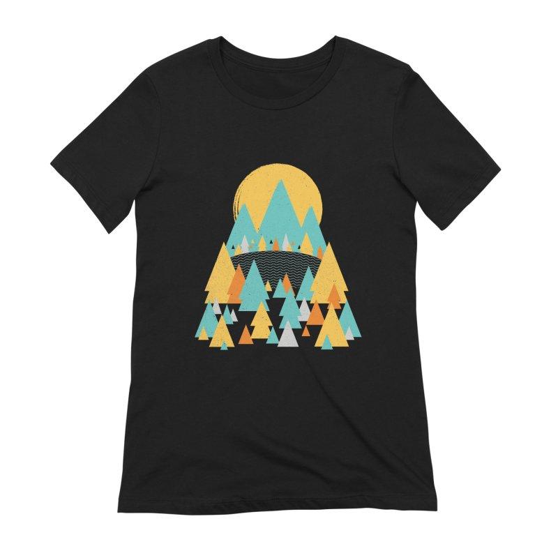 Magicland Women's Extra Soft T-Shirt by Rocket Artist Shop