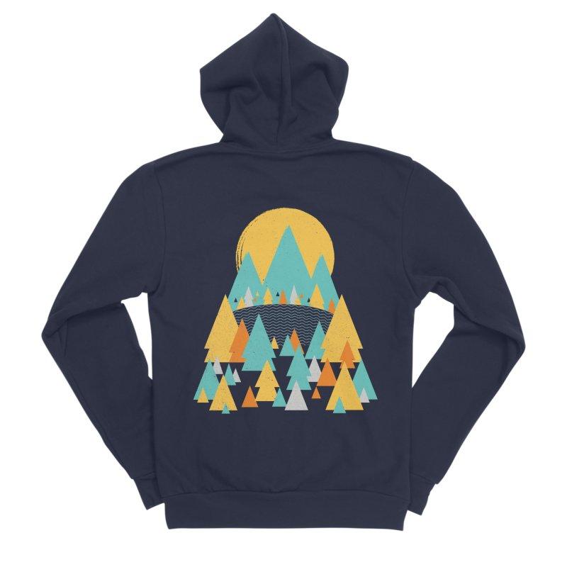 Magicland Women's Sponge Fleece Zip-Up Hoody by Rocket Artist Shop