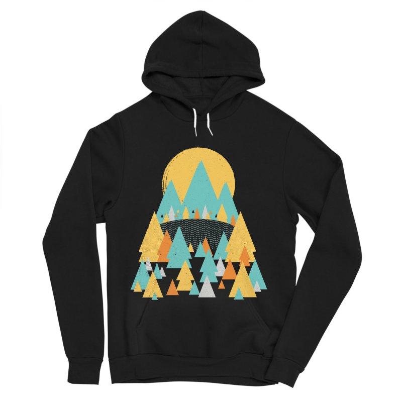Magicland Men's Sponge Fleece Pullover Hoody by Rocket Artist Shop