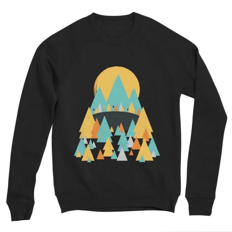 Magicland Men's Sponge Fleece Sweatshirt by Rocket Artist Shop