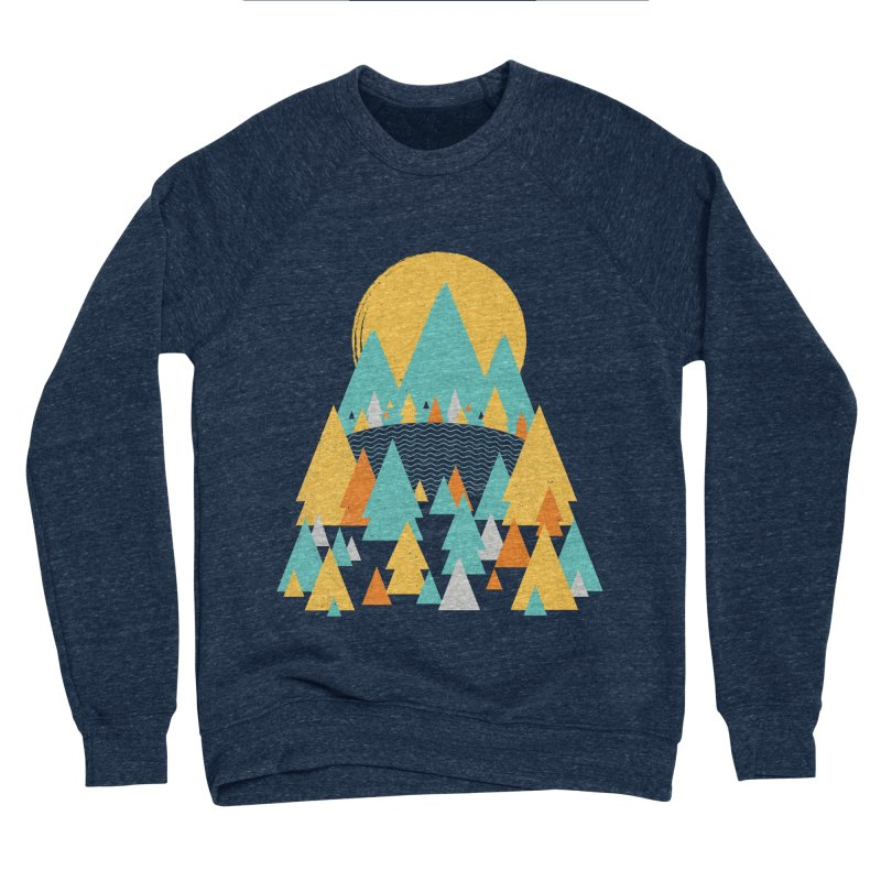 Magicland Men's Sponge Fleece Sweatshirt by Rocket Artist Shop