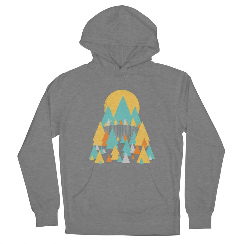 Magicland Men's French Terry Pullover Hoody by Rocket Artist Shop