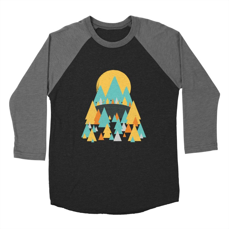 Magicland Women's Baseball Triblend Longsleeve T-Shirt by Rocket Artist Shop