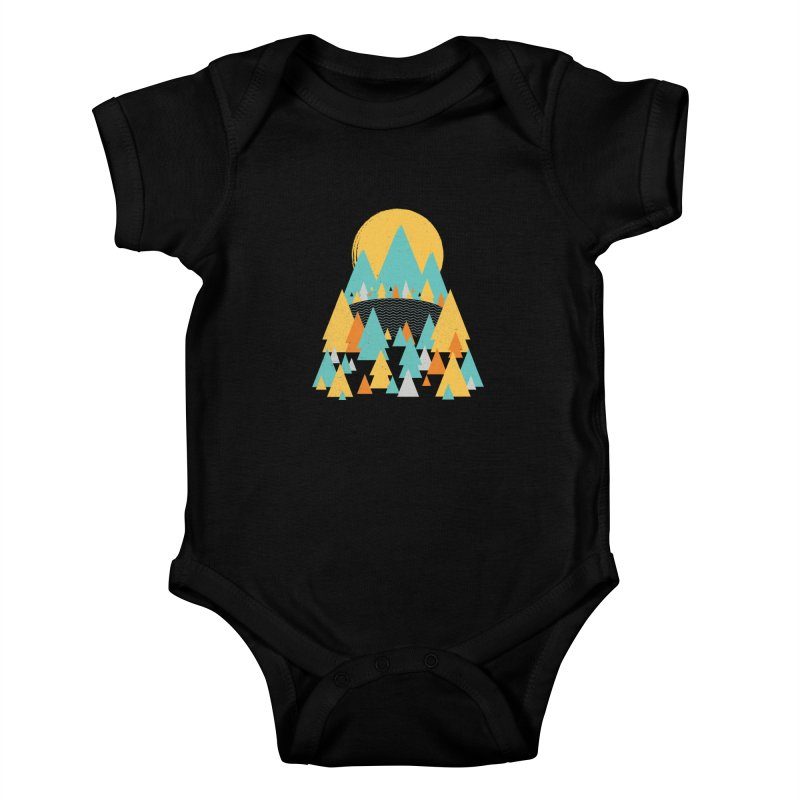 Magicland Kids Baby Bodysuit by Rocket Artist Shop