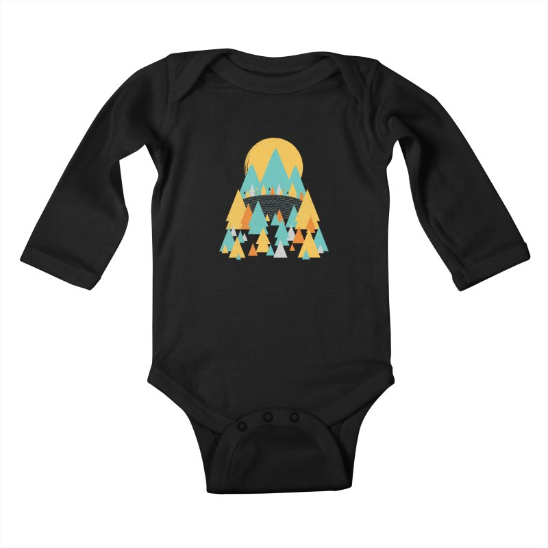Magicland Kids Baby Longsleeve Bodysuit by Rocket Artist Shop