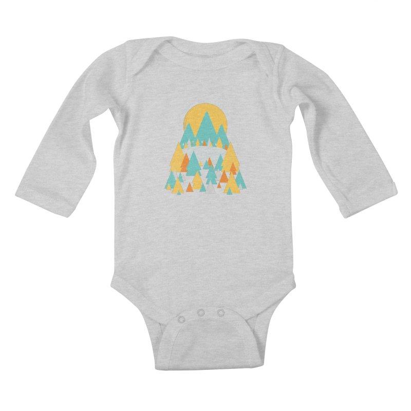 Magicland Kids Baby Longsleeve Bodysuit by Rocket Artist Shop