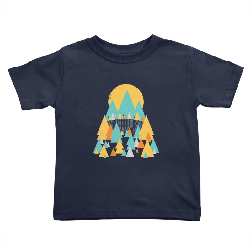 Magicland Kids Toddler T-Shirt by Rocket Artist Shop